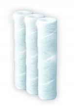Lot de 3 cartouches filtrantes 25 µ Longue Durée